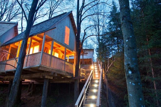 Garden Village Bled - pravljične dvonadstropne hiške na drevesih  CityMagazine