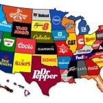 Najbolj popularne blagovne znamke v Ameriki