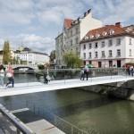 Nov most s svojo nevidnostjo ne konkurira ostalim mestnim elementom.