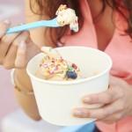 Zamrznjen nizkokalorični jogurt