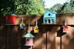Ptičje hišice, ki jih boste naredili sami, bodo to zimo lepa in dobra gesta.