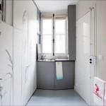 8 kvadratnih metrov majceno, a izjemno zračno in funkcionalno stanovanje v Parizu