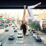 Urbana joga v New Yorku. Foto: Jaka Vinšek