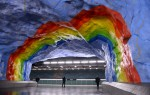Postaja Stadion, Stockholm, Švedska
