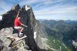 On the edge, photo Sindre Lundvold