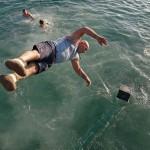 Novoletni skok v morje 2015