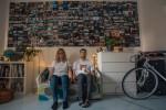 Ekipa OSM films na zadnji dan v lanskem letu. Za njimi je 364 fotografij, ta je bila zadnja.