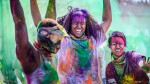 """""""Holi Color Festival"""" (festival svetih barv), Indija"""