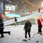 Snežna nevihta v New Yorku