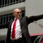 Rupert Friend kot Agent 47.