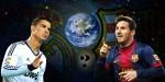 Messi in Ronaldo