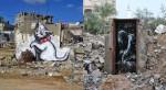 Banksy v Gazi.
