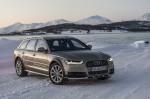 Audi A6 med obiskom Norveškem, kjer je testiral meje Matrix LED-žarometov.