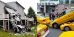 Bizarne avtomobilske nesreče.