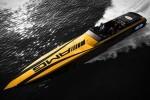 Športni gliser, ki je plod sodelovanja med Mercedesom-AMG in podjetjem Cigarette Racing.