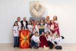 5. razred OŠ Majde Vrhovnik, udeleženci in mentorice projekta Muzej v malem, ki ga organizira Mestni muzej Ljubljana, MGML.