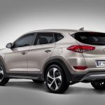 Hyundai tucson 2015 - zadek