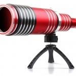 Teleskopski objektiv z 80x optičnim zoomom Spy Ultra.