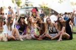 Streetstyle na festivalu Coachella