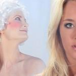 Sprehod skozi zgodovino ženskega ličenja.