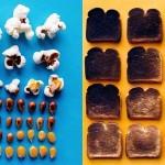 Fotografije popolno razporejene hrane Brittany Wright.