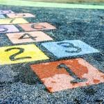 Nuber on playground