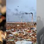 Ganljivi prizori posledic onesnaženja.