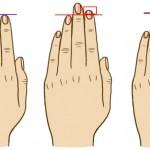 Kaj dolžina prstov pove o tebi?