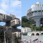 Bizarni arhitekturni ostanki socializma.