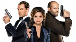 Jude Law, Rose Byrne in Jason Statham (od leve proti desni).