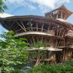 Hiše iz bambusa - Ibuku
