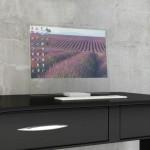 Prozoren hologramski zaslon HTD-01