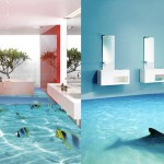 3D talne obloge lahko kopalnico in druge prostore spremenijo v sanjsko destinacijo.