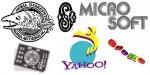 Preobrazba logotipov tehnoloških velikanov