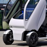 EO Smart 2 - pametni avto, ki lahko zasuka svoja kolesa za 90 stopinj.