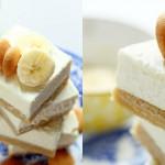 Cheesecake z bananinim pudingom