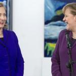 Angela Merkel in Hillary Clinton na vrhu Forbesove lestvice stotih najvplivnejših žensk na svetu.
