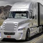 Freightliner Inspiration je visokotehnološki tovornjak in prvi svoje vrste, ki bo lahko vozil sam.