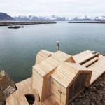 Multifunkcionalna lesena koča