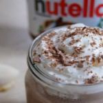 Nutellin milkshake