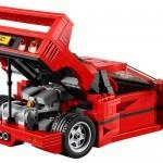 Ferrarija F40 si lahko sestavite iz Lego kock.