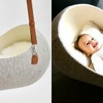"Otroška zibelka ""Little Nest"""