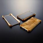 Akustični etui Hibiki je edini leseni zaščitni etui na svetu, ki izboljša zvok mobilca.