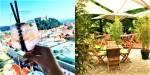 Najlepše ljubljanske terase in dvorišča za poletno kosilo