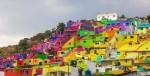 Grafiti umetniki v Mehiki v duhu boja proti nasilju med mladimi poslikali sosesko