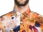 Dirt Pattern Material je vzorec moške srajce, ki je ''imun'' na madeže.
