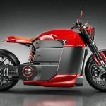 Model M – Teslin motocikel, kot si ga je zamislil Jans Shlapins.