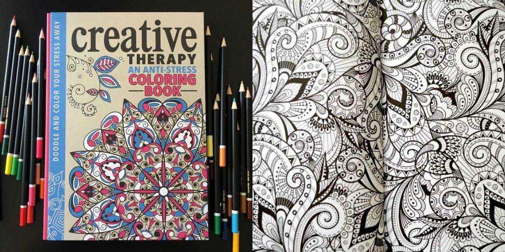 An Anti Stress Coloring Book Pobarvanka Za Odrasle Ki