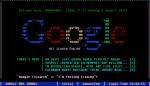 Google, kot bi izgledal v osemdesetih.