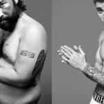 Parodija na oglas za moško spodnje perilo Calvin Klein